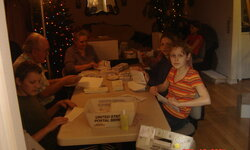 Midnight Christmass newspaper mailing