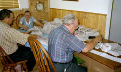 Newspaper sorting